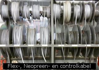 Flex-, Neopreen- en controlkabel