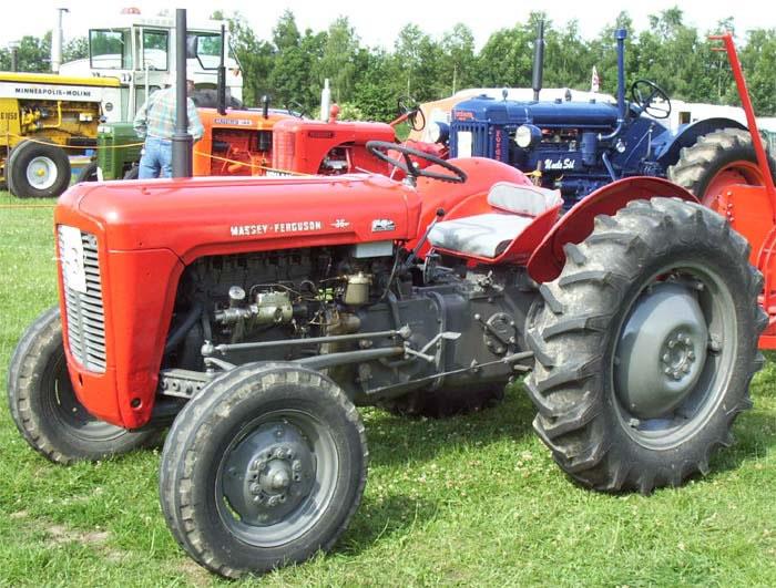 Massey Ferguson 35 1957  1958