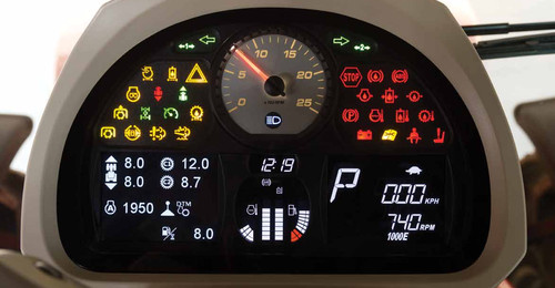 Dashboard MF 7700