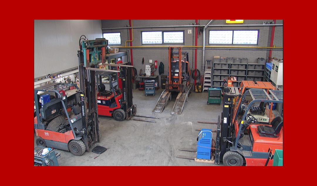 Werkplaats heftrucks 1