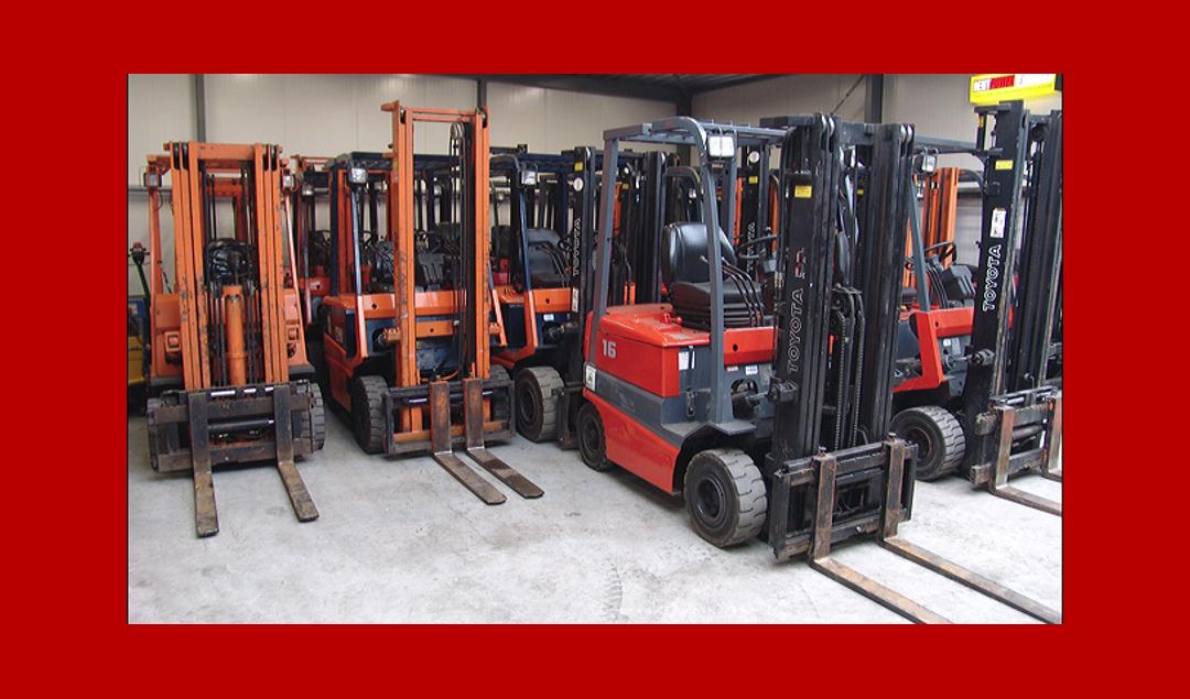 Werkplaats heftrucks 3