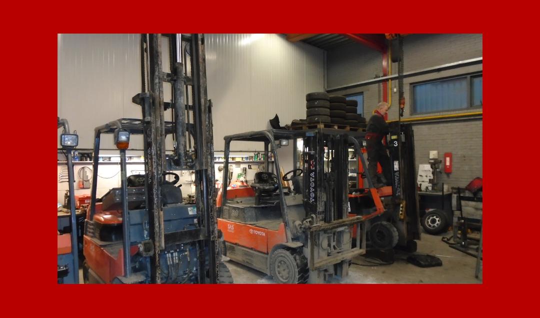 Werkplaats heftrucks 5